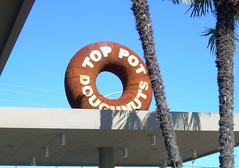 Top Pot Doughnuts (knoopie) Tags: seattle autumn sign september doughnut 2008 toppot wedgewood toppotdoughnuts