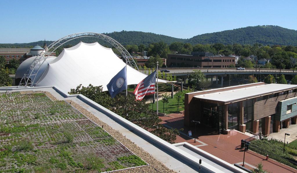 Charlottesville City Hall Green Roof
