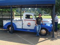 Pepsi Truck (pasmit) Tags: tn memphis elvis 2008 graceland heartbreakhotel