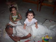 Let's join forces now. I can't do it by myself! (S Jagadish) Tags: sleeping sleep asleep trichy thatha jaagruthi natarajan nandhitha 200810