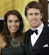 Carl Edwards and Kate Downey engaged