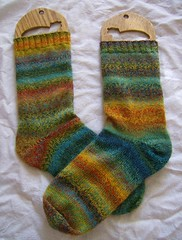 Rainbow Trekking Socks