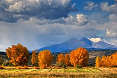 Long's Peak and Fall Colors (david.evenson) Tags: nikon colorado longmont peak best mount longspeak meeker lyons the longs blueribbonwinner of vosplusbellesphotos