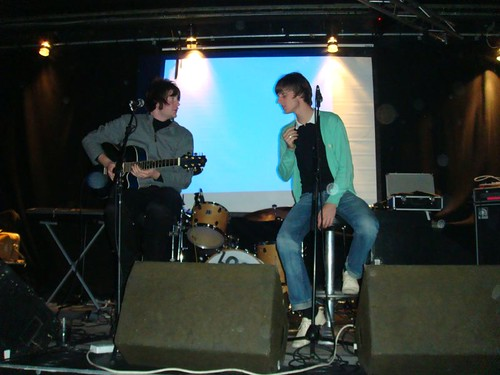 The Brights acoustic session at QOS party