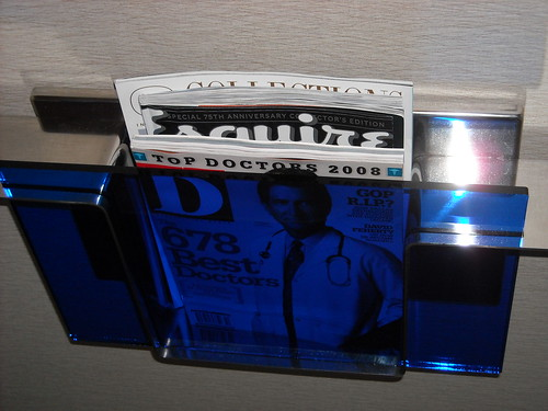 Magazine Rack @ The Joule, Dallas, Texas