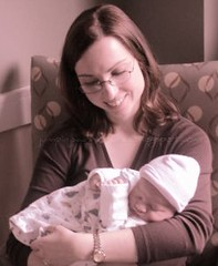 Laura and Baby James