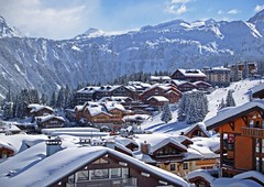 - Luxury hotels in Courchevel