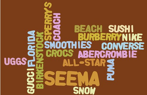 Wordle Seema A. 5-D
