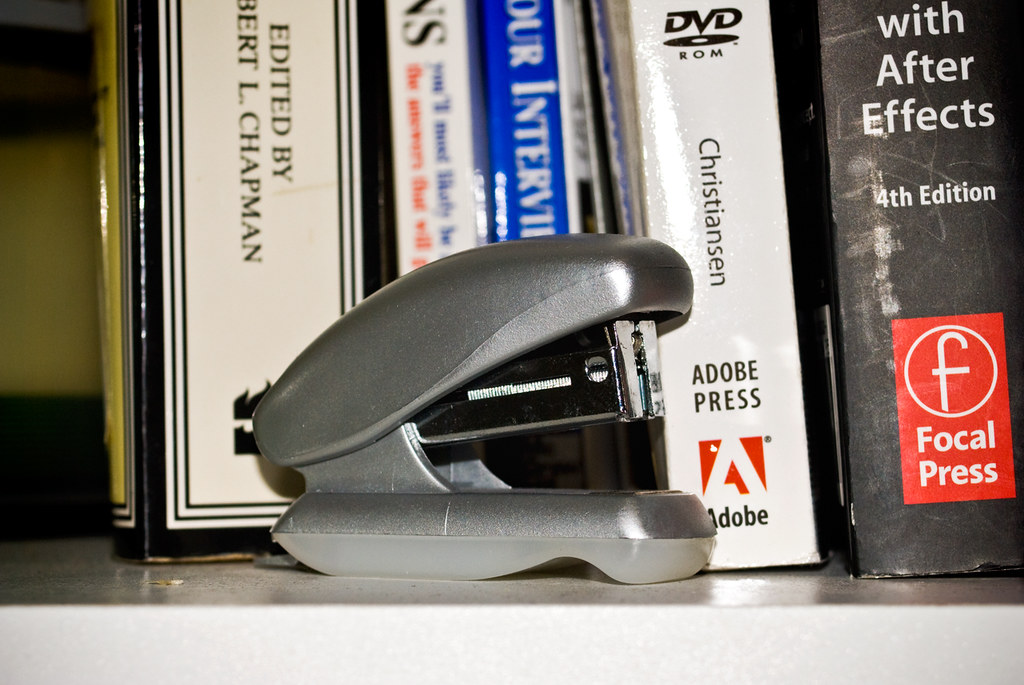 The Cutest Little Stapler in the World, October 25th