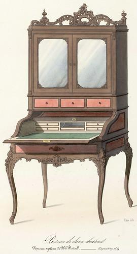 003-Bureau de Señora estilo Renacimiento Rococo