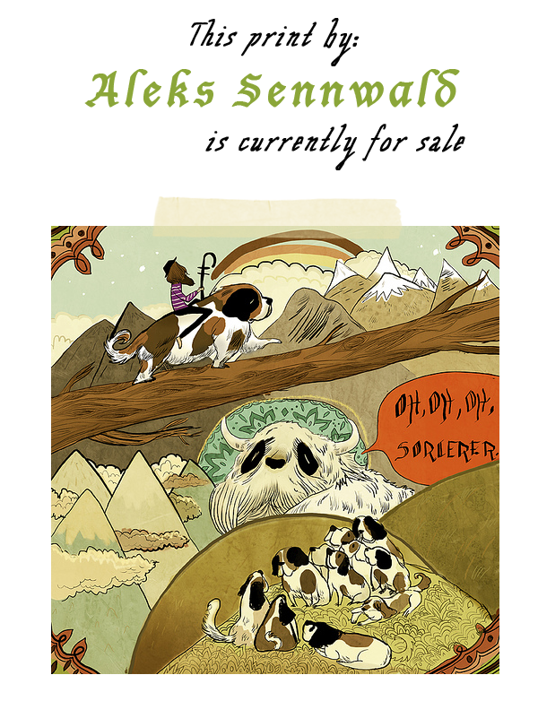 Aleks Sennwald Print