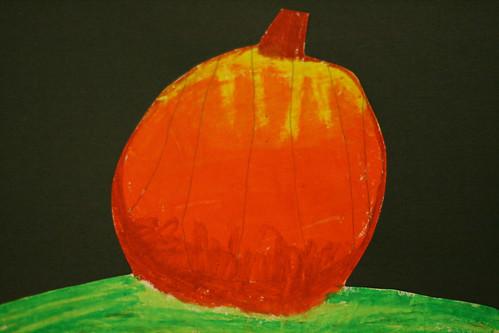 Becca's pumpkin