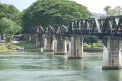 River Kwai June 08 no 14 (Jonathan Wallace) Tags: bridge river thailand kwai