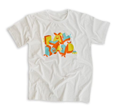 Playboard Blocks T-Shirt - white