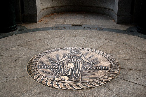 WW II Memorial: Medallion.