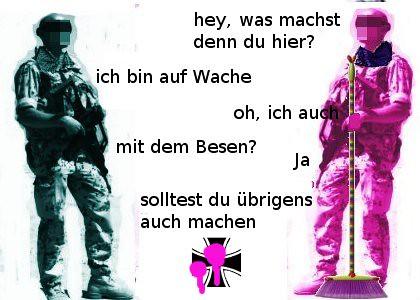 Bundeswehr umstylen...