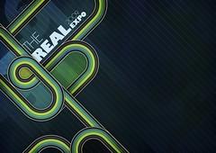 The Real (.kiri) Tags: green poster ribbons colorful retro ribbon vector shadesofgreen retroribbon