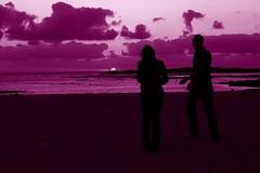 I miss you .....  (Majocesa) Tags: sunset people espaa beach atardecer spain gente jill fuerteventura playa canaryislands siluetas islascanarias imissyou sillouhettes elcotillo colorphotoaward superlativas colourartaward artlegacy betterthangood majocesa