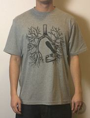 Staple Breathe Kicks Tee - Heather Grey