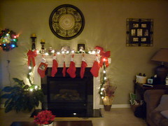 Stockings Over the Fireplace