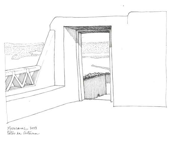 MONSARAZ, Pátio da Cisterna