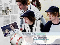 Baseball (bitemeedward) Tags: robert twilight edward crepusculo vampires cullen pattinson