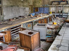 Mad scientist's lab (Batram) Tags: abandoned industry lost factory place decay labor fabrik urbanexploration laboratory industrie chemie hdr chemical urbex sulfuricacid bitterfeld batram schwefelsure vebchemiekombinatbitterfeldveb chemiekombinat veburbexthuringia vanishingextraordinarybuildings