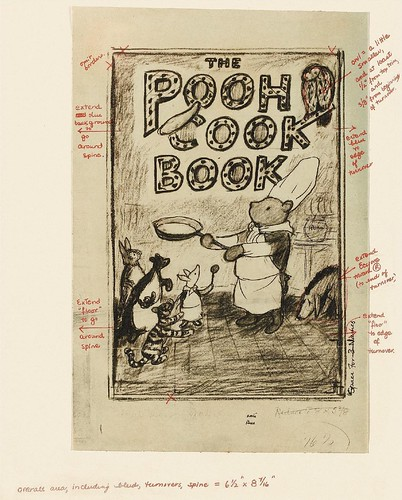 The Pooh Cook Book Preparatory Sketch b