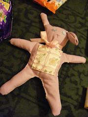 Rag Bunny (Pieszecki) Tags: bunny lilac cotton ragdoll imadeit babytoy