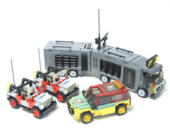 Vehicles-final (psiaki) Tags: lego jeep explorer rv camper jurassicpark moc thelostworld