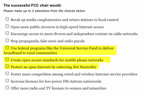 What Will Your FCC Chair Look Like?