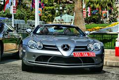 Mercedes-Benz SLR McLaren Roadster in Monaco (Martijn Kapper) Tags: paris slr mercedes hotel sony f1 casino montecarlo monaco exotic mclaren mercedesbenz carlo monte alpha mika supercar martijn hakkinen a100 roadster kapper carspotter autospotten