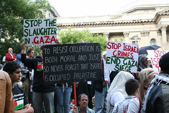 Stop the slaughter in Gaza - Stop Israel's crimes by Takver