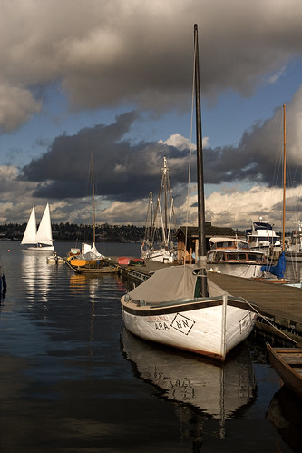 Center for wooden boats, Lake Union, Seattle WA