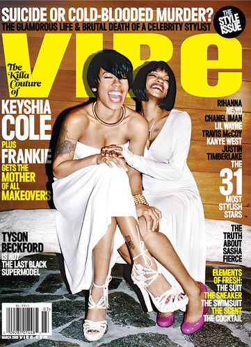 KEYSHIA COLE & FRANKIE VIBE MAGAZINE 2009 MARCH COVER by you.