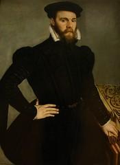 Portrait d'un homme de 33 ans. (Mr-Pan) Tags: portrait black male costume anvers homme muséedulouvre vêtement xvi