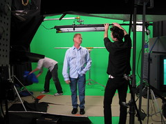 Dialing in the Set for John Santangelo's Shoot