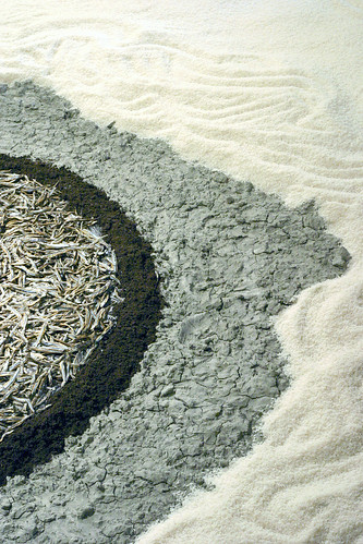 Dried Fish, Earth, Natural Clay,Rice