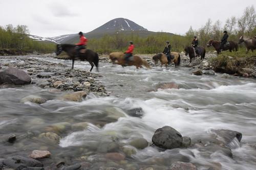 Flussduerchquerung