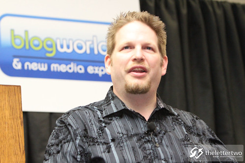 Blogworld - Day 1 - Keynote - Chris Brogan