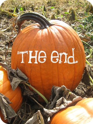 pumpkin the end