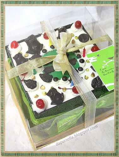 Black Forest with Pistachio