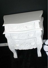 "4161 BAROQUE WHITE NIGHTSTAND • <a style=""font-size:0.8em;"" href=""http://www.flickr.com/photos/43749930@N04/5744374086/"" target=""_blank"">View on Flickr</a>"