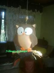 Coruja , OWL (Mary Zanon / Criando e Recriando) Tags: eva artesanato goma craft owl coruja foamy pingente foami