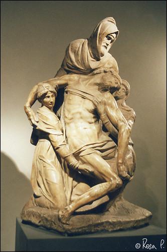 Italy - Florence - Pietà dell'Opera del Duomo
