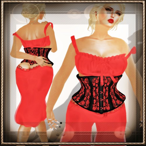 A&A Fashion Full Sculpted Outfit Susi Susi Red