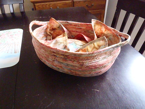 Bread Basket with Matching Napkin