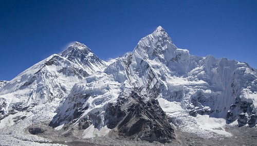 View from Kala Patar peak to Everest, Photo (c) Radson1