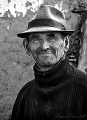 Old Man from Pirot, Serbia (Tanjica Perovic) Tags: portrait blackandwhite bw souls photography fotograf photographer village serbia oldman srbija  nisava pirot kej srpski sigma1770mm fotografija  canoneos400d  southeastserbia blackandwhiteportait pirotskikej pirotskicilim  kejnanisavi  pirotserbia tanjicaperovic pirotkej pirotski pirotsrbija  tanjicaperovicphotography fotografijepirota