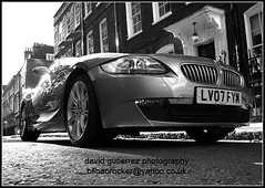 London Car in Black & White B/W Dream Car (david gutierrez [ www.davidgutierrez.co.uk ]) Tags: city uk travel england urban blackandwhite bw london cars car spectacular geotagged design photo blackwhite interestingness arquitectura automobile cityscape image centre transport perspective dream cities cityscapes center motors explore transportation finepix londres bmw fujifilm sensational metropolis motor topf100 londra impressive automobiles digest municipality cites 100faves s6500fd s6000fd fujifilmfinepixs6500fd worldcars flickrdiamond